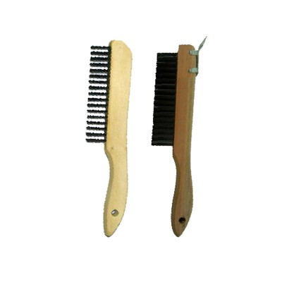 Short Handle Wood Block Wire Brushes