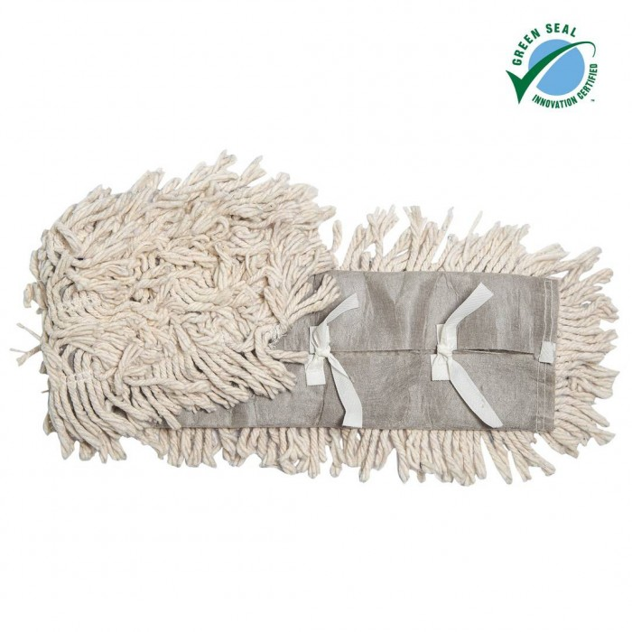 Disposable Pre-Treated Cotton Cut-End Dust Mops, dipr