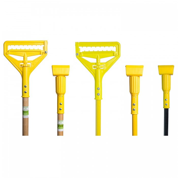 Plastic Head Mop Handles (Deluxe Series), dese