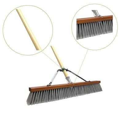 Fine / Medium Push Broom Assembled