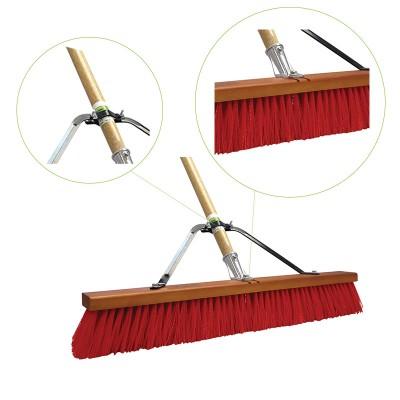 Heavy Duty Push Broom Assembled